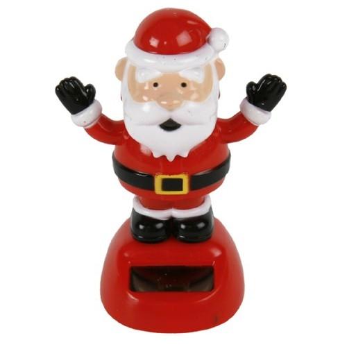 Weihnachtsmann mit Solar