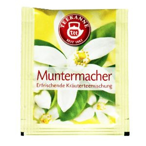 Teebeutel Muntermacher