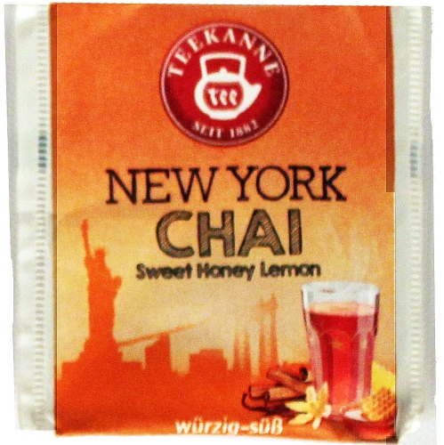 Teebeutel New York Chai