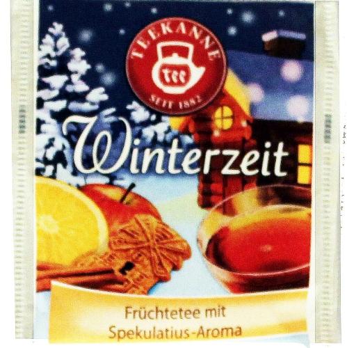 Teebeutel Winterzeit
