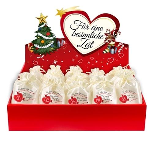 adventkalender f r partner mit 24 adventsbeuteln und. Black Bedroom Furniture Sets. Home Design Ideas